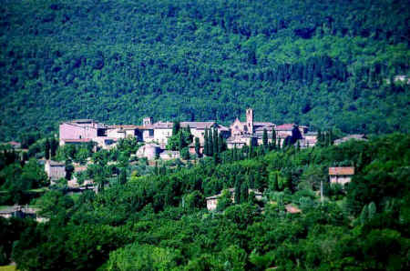 Sovicille in the province of Siena, Tuscany